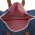 Herschel Supply Co. Novel Duffle Bag - Navy/Tan: Image 4