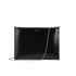 Aspinal of London Women's Soho Pouch - Silver/Black: Image 3