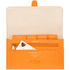 Aspinal of London Women's Classic Travel Wallet - Orange: Image 4