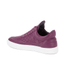 Filling Pieces Women's Stripe Quilted Low Top Leather Trainers - Purple: Image 5
