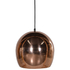 Bark & Blossom Copper Bowl Pendant Lamp: Image 2