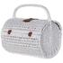 Bark & Blossom White Rattan Picnic Basket: Image 3