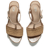 UGG Women's Fitchie T Bar Wedged Sandals - Rust: Image 2