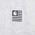 Carhartt Men's Short Sleeve State Back Print T-Shirt - Ash Heather Grey: Image 3