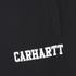 Carhartt Men's College Sweat Shorts - Black/White: Image 4