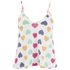 Wildfox Women's Vintage Hearts Paradise Cami - Multi: Image 1