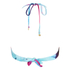 Wildfox Women's Mermaid Dye Bikini Top - Multi: Image 2
