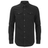 BLK DNM Men's Fitted Denim Shirt - Pocono Black: Image 1