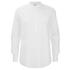 BLK DNM Men's Poplin Kaftan Shirt - White: Image 1