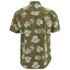 Penfield Men's Belden Printed Short Sleeve Shirt - Olive: Image 2