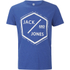 Jack & Jones Men's Core Hex T-Shirt - Surf The Web Melange: Image 1