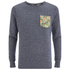 Jack & Jones Men's Originals Boom Pocket Sweatshirt - Navy Blazer: Image 1