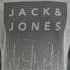 Jack & Jones Men's Core Noise Sweatshirt - Light Grey Melange: Image 3
