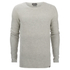 Jack & Jones Men's Originals Basket Knit Jumper - Treated White: Image 1