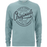 Jack & Jones Men's Originals Tones Sweatshirt - Imperial Blue Melange: Image 1