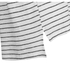 Gestuz Women's Marie Striped V-Neck Linen T-Shirt - Off White/Black: Image 3