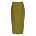 C/MEO COLLECTIVE Women's Perfect Lie Pencil Skirt - Khaki: Image 3
