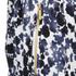MICHAEL MICHAEL KORS Women's Zip Pocket Printed Trouser - New Navy: Image 4