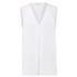 MICHAEL MICHAEL KORS Women's Double Layer Tank Vest - White: Image 1