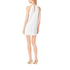 MICHAEL MICHAEL KORS Women's Chain Neck Dress - White: Image 3