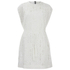 McQ Alexander McQueen Women's Lace Cape Dress - Ivory: Image 1