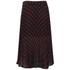 McQ Alexander McQueen Women's Pleated Skirt - Red/Black: Image 2