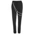 McQ Alexander McQueen Women's Biker Tux Pants - Black: Image 1
