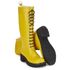 Ilse Jacobsen Women's Lace Up Tall Rubber Boots - Cyber Yellow: Image 5