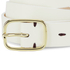 Paul Smith Accessories Women's Classic Belt - White: Image 3