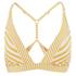 Paolita Women's Voyage Endeavour Bikini Top - Yellow/White: Image 1