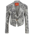 Vivienne Westwood Red Label Women's Cropped Lou Lou Jacket - Ticking Print: Image 1