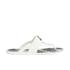 Vivienne Westwood MAN Men's Enamelled Orb Flip Flops - Pure White: Image 2