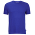 Derek Rose Basel 1 Men's Crew Neck T-Shirt - Blue: Image 1