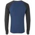 Camiseta manga larga Brave Soul Osbourne - Hombre - Azul vintage: Image 2