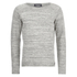Produkt Men's Space Dye Jumper - Light Grey Melange: Image 1