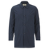 Folk Men's Mid Length Buttoned Jacket - Navy: Image 1
