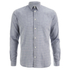 Folk Men's Grid Check Shirt - Navy: Image 1