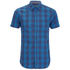 Produkt Men's Short Sleeve Checked Shirt - Dress Blue: Image 1