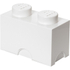 LEGO Storage Brick 2- White: Image 1