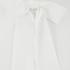 Karl Lagerfeld Women's Silk Ruffle Cuff Blouse - White: Image 3