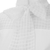Karl Lagerfeld Women's Bow Blouse Tunic Dress - White: Image 3