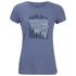 Jack Wolfskin Women's Valley T-Shirt - Blue Indigo: Image 1