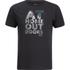 Jack Wolfskin Men's Slogan T-Shirt - Phantom: Image 1
