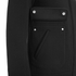 Helmut Lang Men's Collarless Padded Jersey Bomber Jacket - Black: Image 4