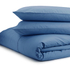 Highams 100% Egyptian Cotton Pillowcase - Steel Blue: Image 2
