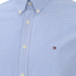 Tommy Hilfiger Men's Devan Poplin Long Sleeved Shirt - Blue: Image 3