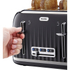 Breville VTT476 Impressions Collection Toaster - Black: Image 2