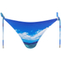Orlebar Brown Women's Nicoletta Hulton Getty Mustique Mystique Bikini Top - Blue: Image 1