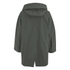 Maison Kitsuné Women's Coated Parker Jacket - Khaki: Image 3