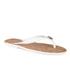MICHAEL MICHAEL KORS Women's Jet Set MK Jelly Sandals - Optic White: Image 5